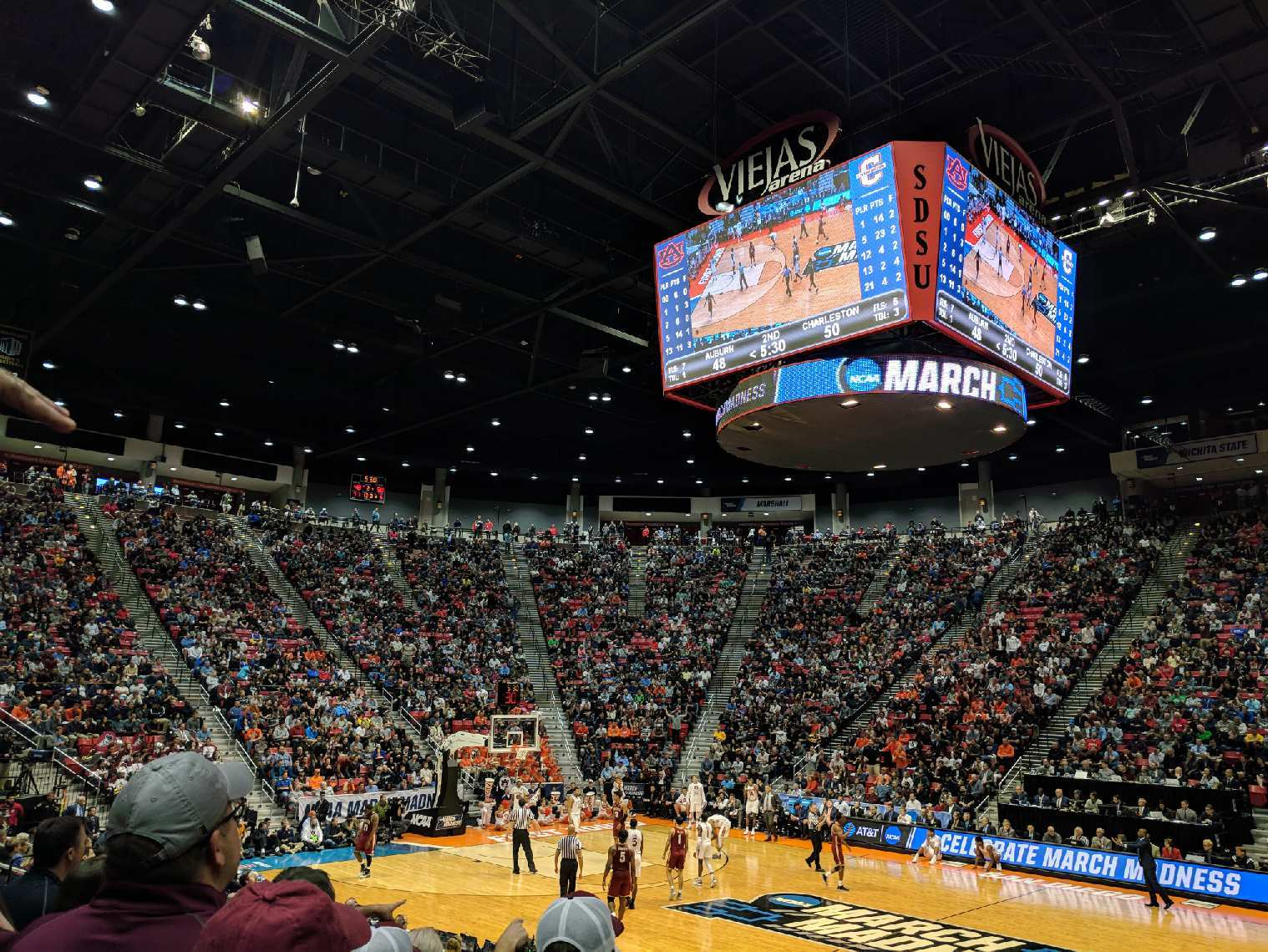 Viejas Arena - College of Charleston vs. Auburn